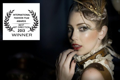 International Fashion Film Awards 2013 La Joll - Best Art Direction Badge