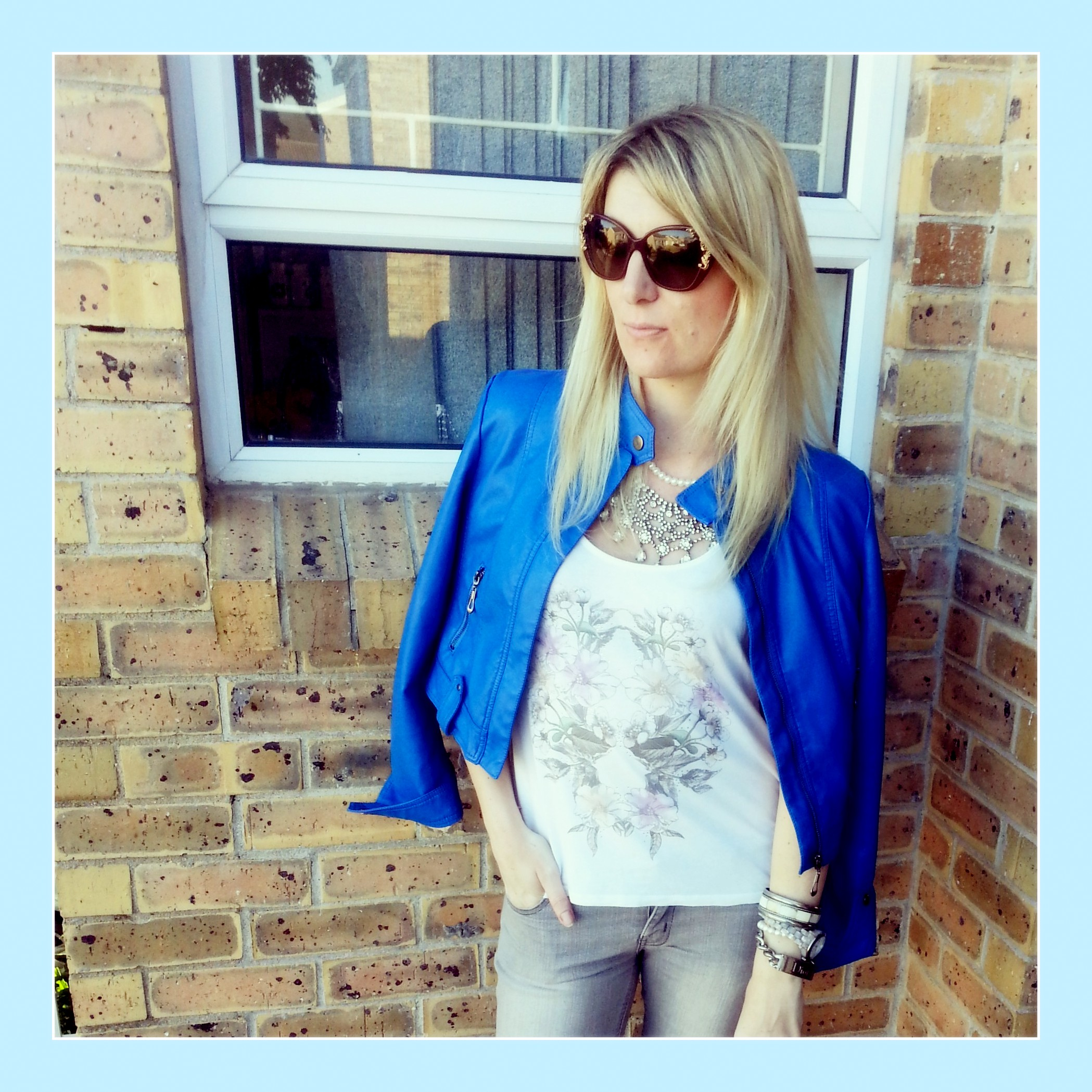 blue leather jacket 2