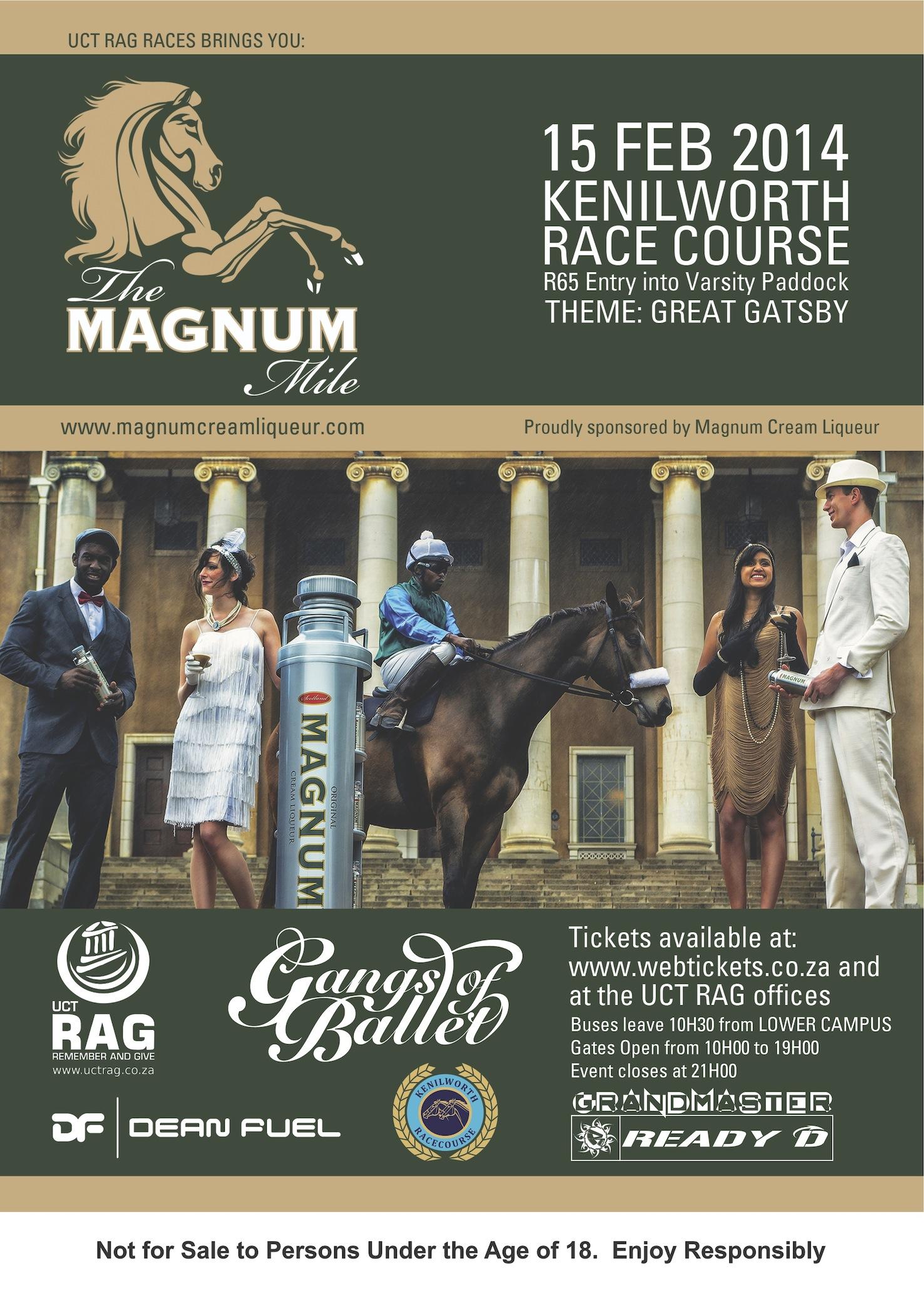 Magnum Mile poster