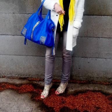 fashionjazz yellow scarf 2