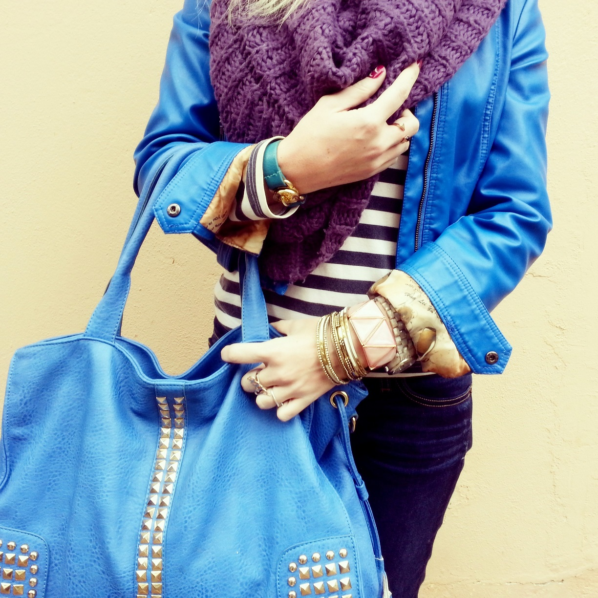 FASHIONJAZZ BLUE AND STIPES 3