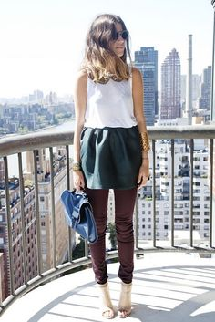 FASHIONJAZZ PINTEREST SKIRTS OVER PANTS  4