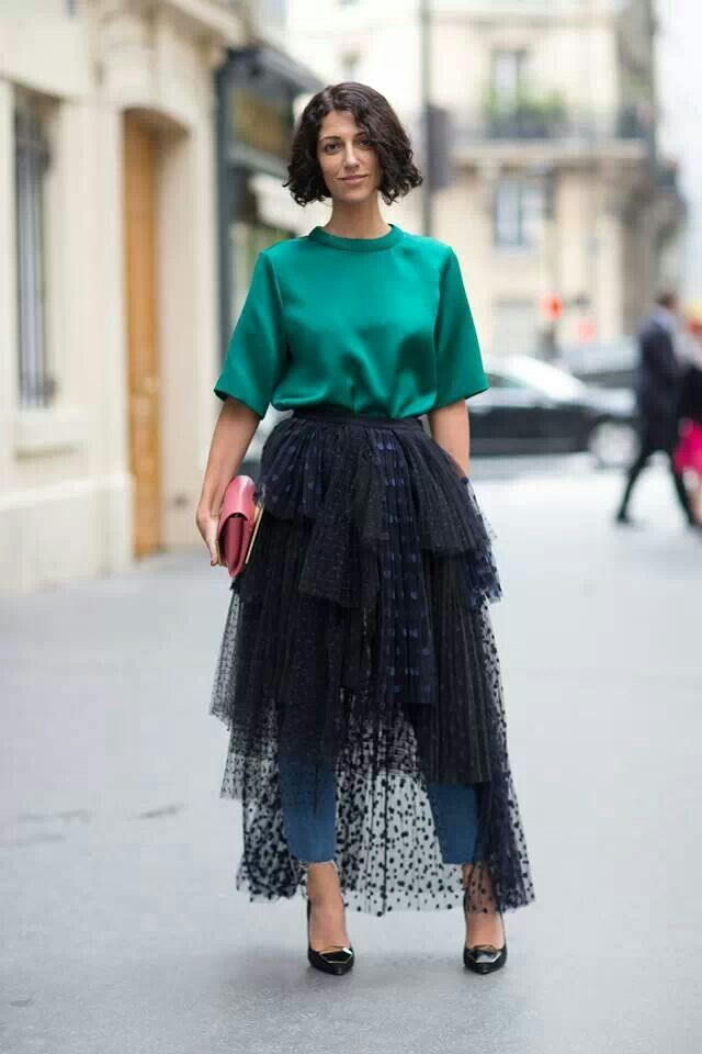 FASHIONJAZZ PINTEREST SKIRTS OVER PANTS  5