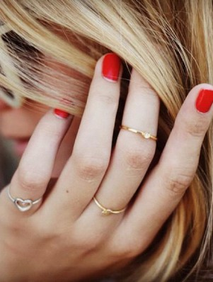 FASHIONJAZZ PINTEREST STACKED RINGS 2