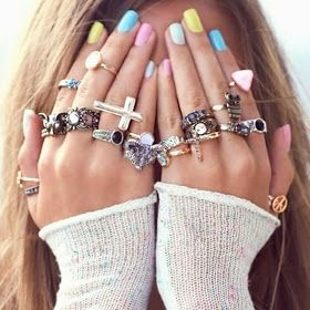 FASHIONJAZZ PINTEREST STACKED RINGS 5