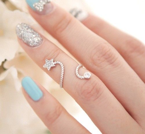 FASHIONJAZZ PINTEREST STACKED RINGS 9