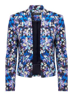 JA1580_NAVYFL ORAL Bessie printed blazer PARIS BELLE R1299 (1)