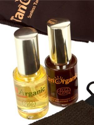 tan organic pack