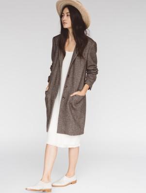 Le-Fashion-Blog-Jenni-Kayne-Resort-2016-Straw-Hat-White-Midi-Dress-Brown-Coat-White-Oxfords-Via-Style-Com