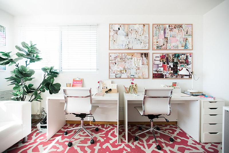 OFFICE CHIC DECOR